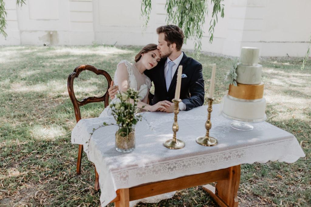 Hochzeitsplanung mit Brautpaar